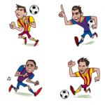 FC Barcelona Facebook World Cup 2014 Free Sticker