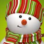 Snowman - Facebook Christmas Cover Photo