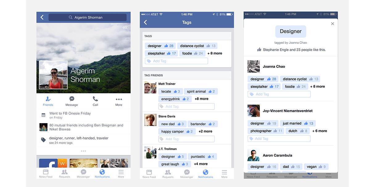 Facebook Profile Tag
