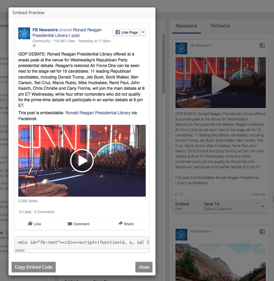 Facebook Signal3