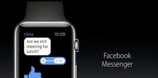 Apple Watch Gets Updates; Facebook Messenger for Apple Watch