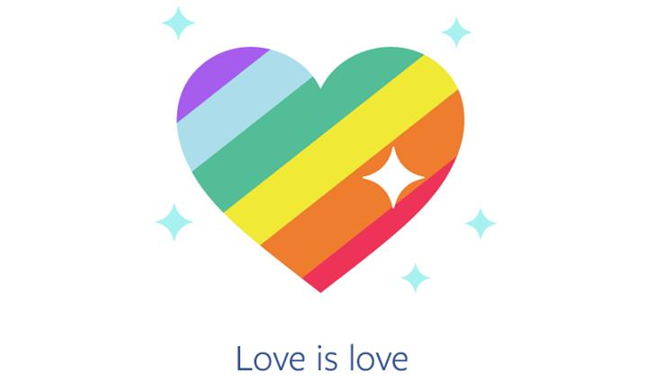 Love is love - Facebook