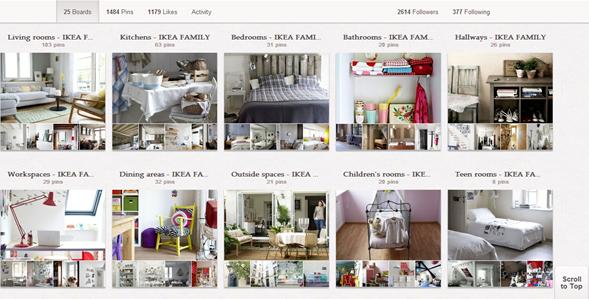 IKEA - Pinterest