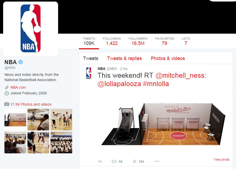 NBA - Twitter