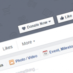 Donate button - Facebook Page