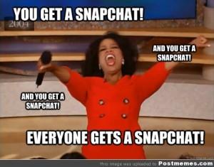snapchat oprah