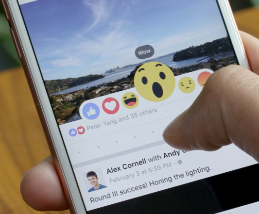 All About The New 'Reaction Buttons' On Facebook